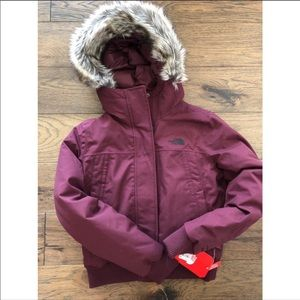 The North Face Nebula Bomber Jacket XS NWT!
